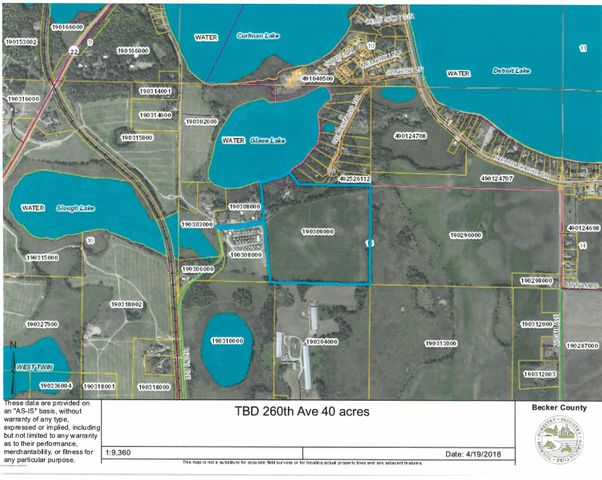 Tbd 260th Avenue, Detroit Lakes, MN 56501