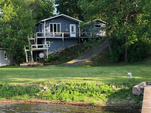 Summer, heat, fishing, and play is here! Crystal Lake of Otter Tail County! The main cottage offers a kitchen, master bedroom, bathroom, and a living room over looking the lake and lake side yard, allowing you to watch outdoor activities when you are inside. Enjoy beautiful sunsets, excellent fishing, swimming, and water sports. Ample room for large families, groups of friends, and entertaining. The property building amenities include the cottage, bunkhouse, laundry hut, pump house, garage, recreation room, garden shed, and 28 x 40 back lot garage on a one acre lot. Enjoy a your summer on Crystal Lake!