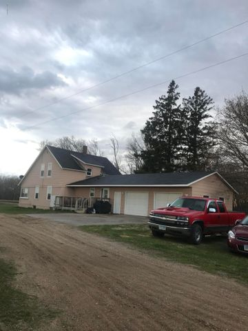 Home and attached heated garage