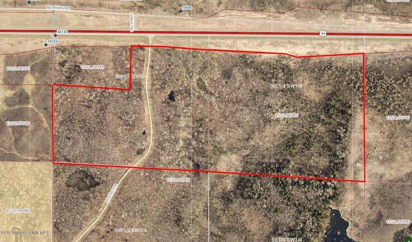 57 Acres Moose Drive, LaPorte, MN 56461
