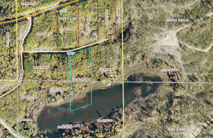 Lot 6 Gemstone Lane, Nevis, MN 56467
