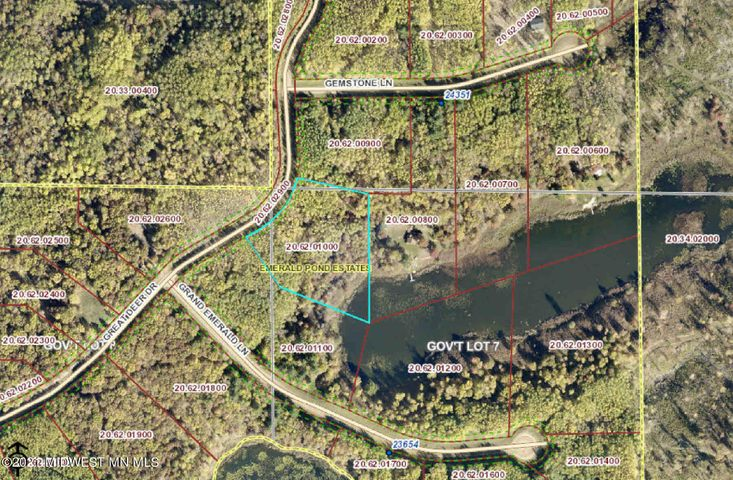 Lot 9 Great Deer Drive, Nevis, MN 56467