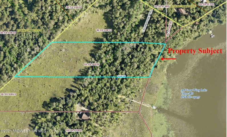 Tbd Crown Point Trail, Nevis, MN 56467