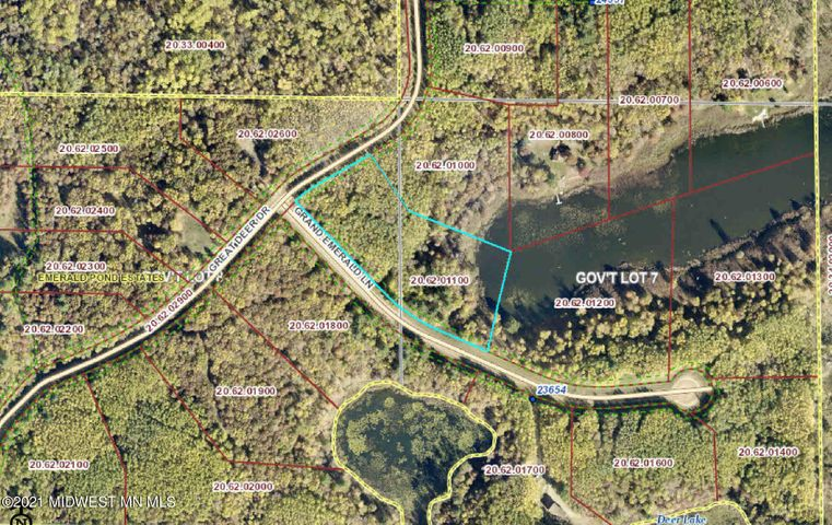 Lot 10 Great Deer Drive, Nevis, MN 56467