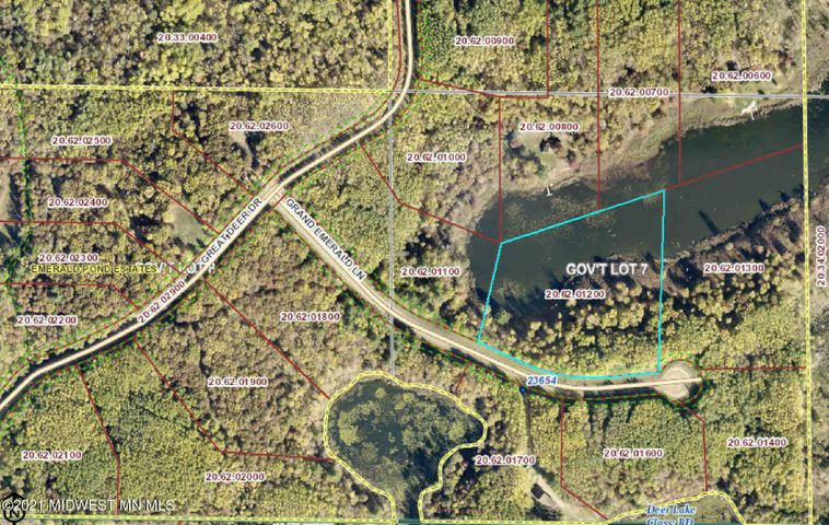 Lot 11 Grand Emerald Lane, Nevis, MN 56467
