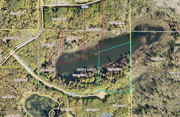 Lot 12 Grand Emerald Lane, Nevis, MN 56467