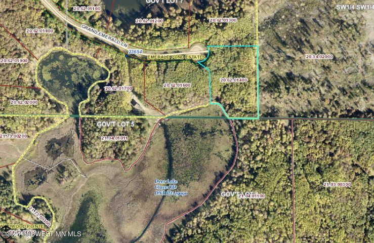 Lot 13 Grand Emerald Lane, Nevis, MN 56467