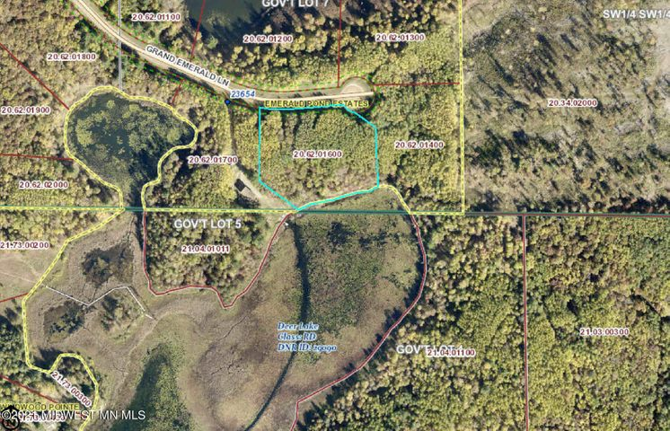 Lot 14/15 Grand Emerald Lane, Nevis, MN 56467