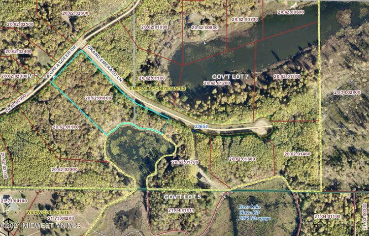 Lot 17 Grand Emerald Lane, Nevis, MN 56467