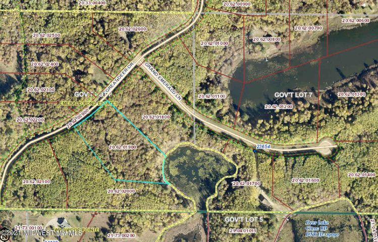 Lot 18 Great Deer Drive, Nevis, MN 56467