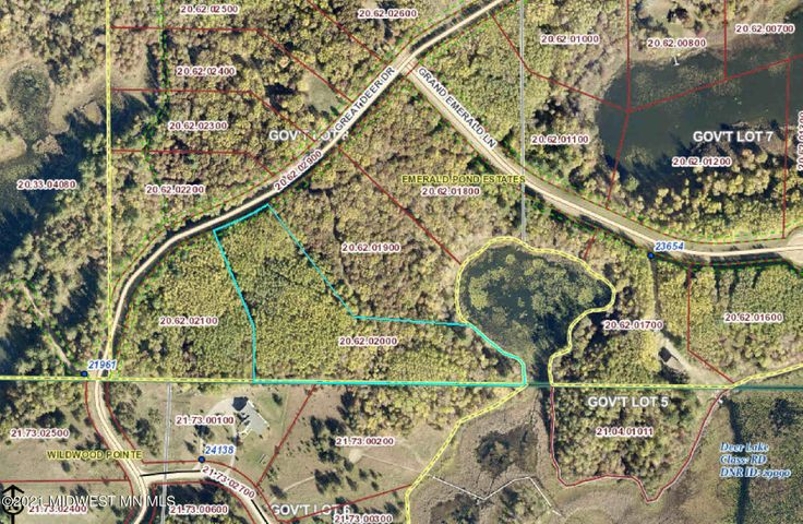 Lot 19 Great Deer Drive, Nevis, MN 56467