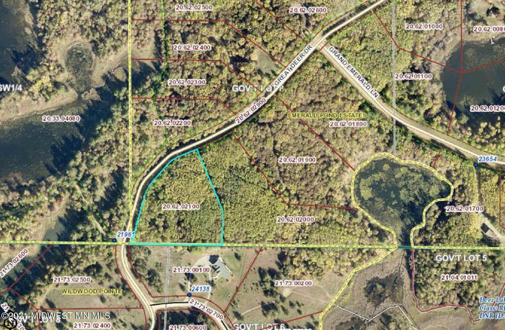 Lot 20 Great Deer Drive, Nevis, MN 56467