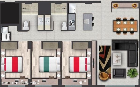 Departamento Queretaro>Queretaro>Juriquilla - Venta:2.475.000 Pesos - codigo: 18-639