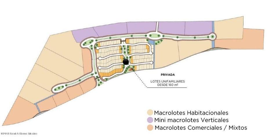 Terreno Queretaro>Queretaro>El Refugio - Venta:1.203.991 Pesos - codigo: 18-953