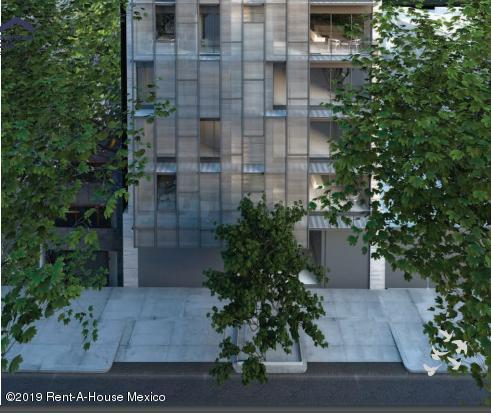Departamento Distrito Federal>Cuauhtémoc>Roma Norte - Venta:9.450.000 Pesos - codigo: 19-173