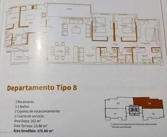 Departamento Queretaro>Queretaro>Juriquilla - Venta:4.523.000 Pesos - codigo: 19-337