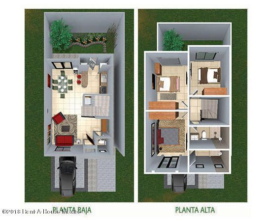 Casa Queretaro>Queretaro>San Isidro Juriquilla - Venta:1.842.250 Pesos - codigo: 19-433