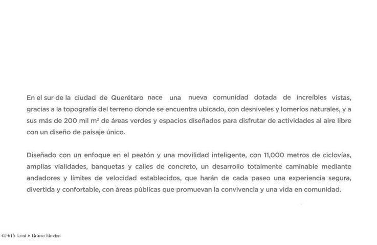 Terreno Queretaro>El Marques>Capital Sur - Venta:514.800 Pesos - codigo: 19-657