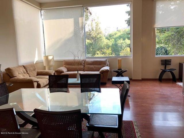 Departamento Distrito Federal>Miguel Hidalgo>Lomas de Chapultepec - Renta:41.000 Pesos - codigo: 19-1254
