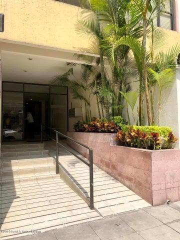 Departamento Distrito Federal>Miguel Hidalgo>Anzures - Renta:23.500 Pesos - codigo: 19-1391