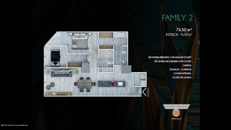 Departamento Distrito Federal>Miguel Hidalgo>Anzures - Venta:4.548.000 Pesos - codigo: 19-1439