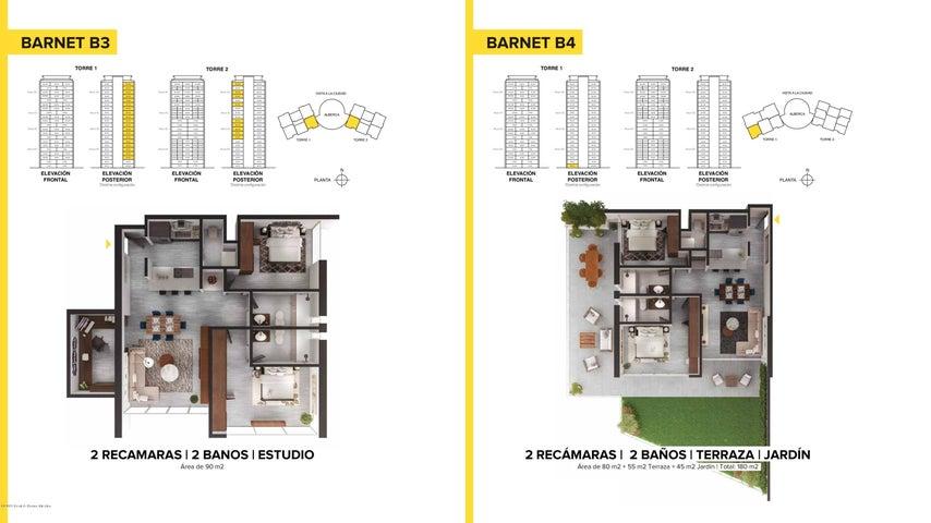Departamento Queretaro>El Marques>Monte Miranda - Renta:18.000 Pesos - codigo: 19-1575
