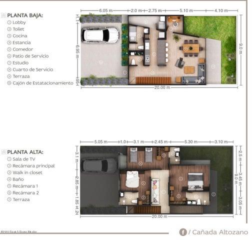 Casa Queretaro>Queretaro>Altozano - Venta:3.690.000 Pesos - codigo: 19-1752