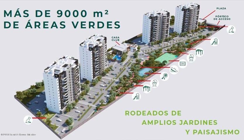 Departamento Queretaro>Queretaro>El Refugio - Venta:2.392.920 Pesos - codigo: 19-2129