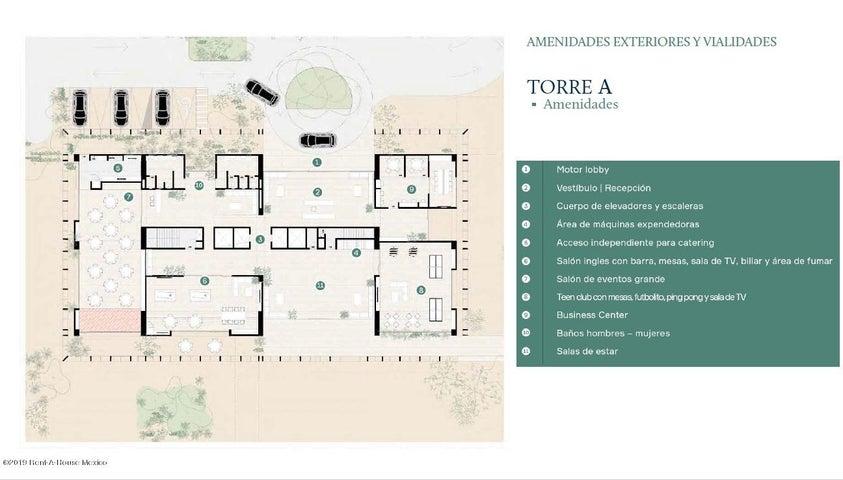 Departamento Queretaro>El Marques>Zibata - Venta:3.500.000 Pesos - codigo: 19-2154