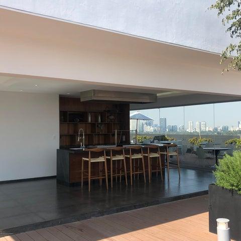 Departamento Distrito Federal>Cuauhtémoc>Hipodromo Condesa - Renta:33.000 Pesos - codigo: 19-2450
