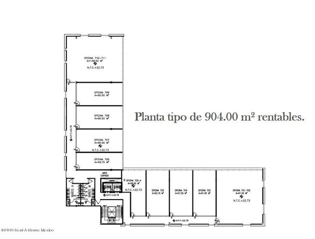 Oficina Queretaro>Queretaro>Santa Fe de Juriquilla - Renta:17.500 Pesos - codigo: 20-10