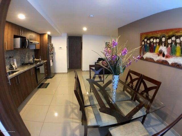 Departamento Distrito Federal>Alvaro Obregón>San Pedro de los Pinos - Renta:15.000 Pesos - codigo: 19-2457