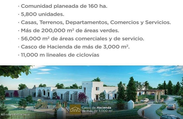 Terreno Queretaro>El Marques>Capital Sur - Venta:934.820 Pesos - codigo: 20-342