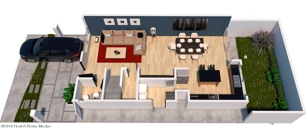 Casa Queretaro>El Marques>Zibata - Venta:4.099.000 Pesos - codigo: 20-768