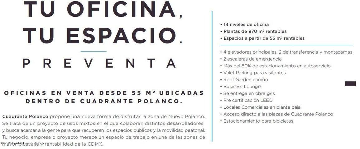 Distrito Federal>Miguel Hidalgo>Ampliacion Granada - Venta:5.556.000 Pesos - codigo: 20-1045
