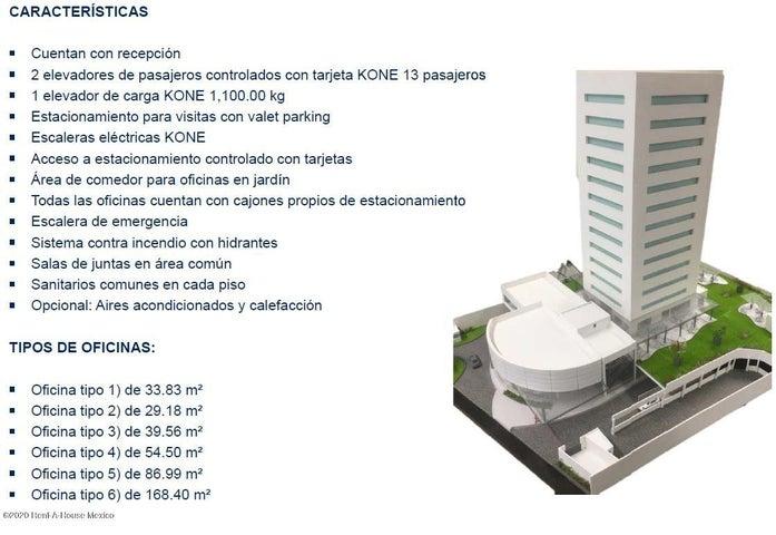 Oficina Queretaro>Queretaro>Valle De Juriquilla - Venta:2.772.332 Pesos - codigo: 20-1349