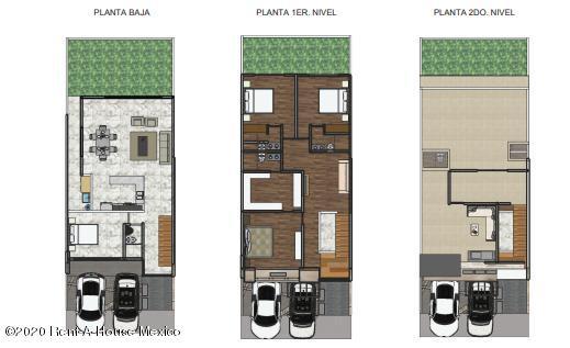Casa Queretaro>El Marques>Zibata - Venta:4.100.000 Pesos - codigo: 20-2409