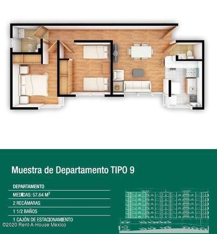Departamento Distrito Federal>Iztacalco>Agricola Oriental - Venta:2.135.562 Pesos - codigo: 20-2636