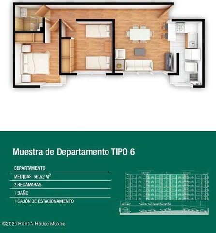 Departamento Distrito Federal>Iztacalco>Agricola Oriental - Venta:2.153.412 Pesos - codigo: 20-2637