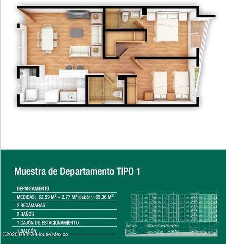 Departamento Distrito Federal>Iztacalco>Agricola Oriental - Venta:1.911.466 Pesos - codigo: 20-2638