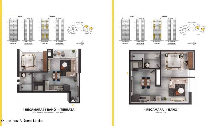 Departamento Queretaro>El Marques>Monte Miranda - Renta:16.000 Pesos - codigo: 21-570