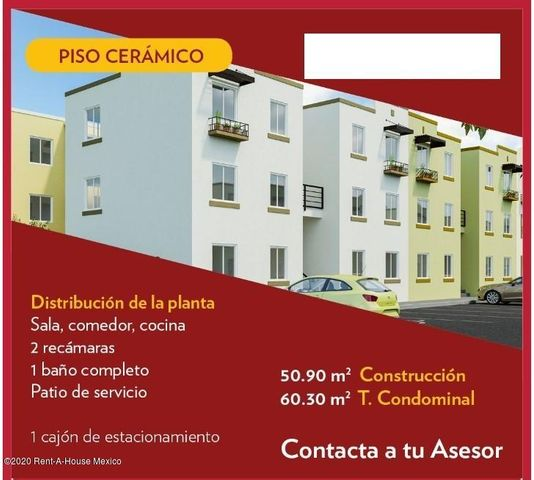 Departamento Queretaro>El Marques>Real Solare - Venta:778.000 Pesos - codigo: 21-621