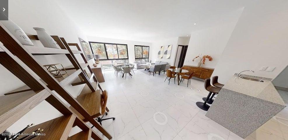 Departamento Distrito Federal>Benito Juárez>Narvarte Poniente - Venta:5.930.000 Pesos - codigo: 21-640