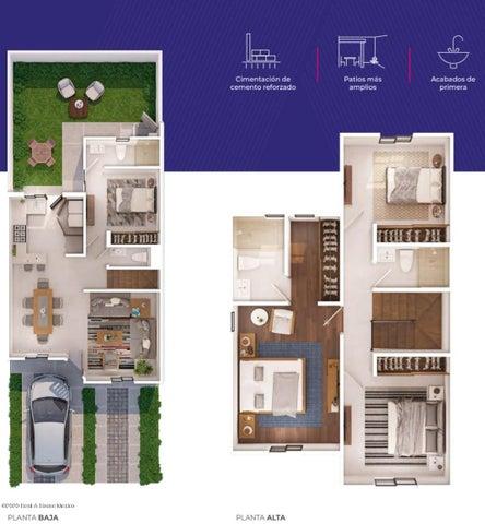 Casa Queretaro>El Marques>Zakia - Venta:2.317.500 Pesos - codigo: 21-723