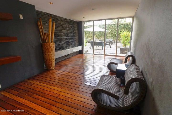 Departamento Distrito Federal>Cuajimalpa de Morelos>Cuajimalpa - Renta:20.500 Pesos - codigo: 21-887