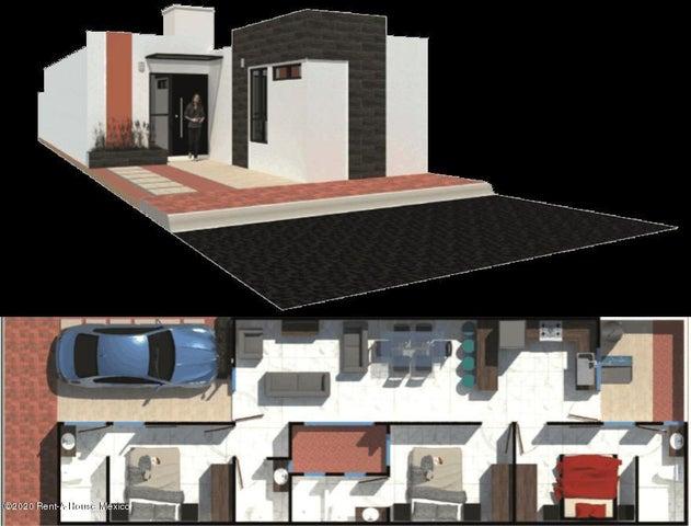 Casa Hidalgo>Tizayuca>El Carmen - Venta:836.000 Pesos - codigo: 21-1148