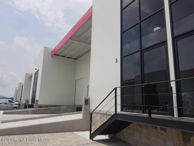 Nave Industrial Queretaro>El Marques>San Francisco La Griega - Renta:36.400 Pesos - codigo: 21-1209