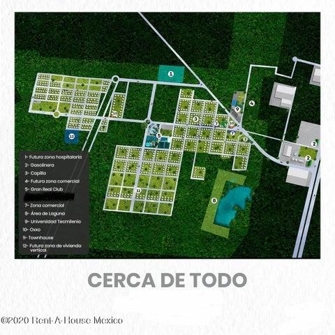 Terreno Yucatan>Merida>Real Montejo - Venta:510.000 Pesos - codigo: 21-205