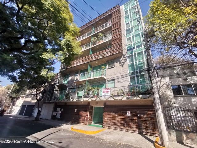 Departamento Distrito Federal>Benito Juárez>Nápoles - Renta:18.000 Pesos - codigo: 21-1490
