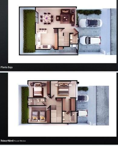 Casa Queretaro>El Marques>Zibata - Venta:2.890.000 Pesos - codigo: 21-1824